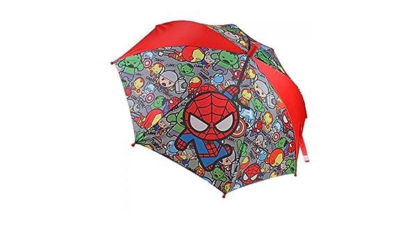 Marvel - Paraguas automatico calidad premium de kawaii marvel, tamaño 48 cm: Amazon.es: Ropa y accesorios
