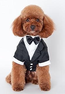 f1fbd2c6d1baa MaruPet(マルペット)ペット用 犬服猫服タキシード 蝶ネクタイ付き 可愛い