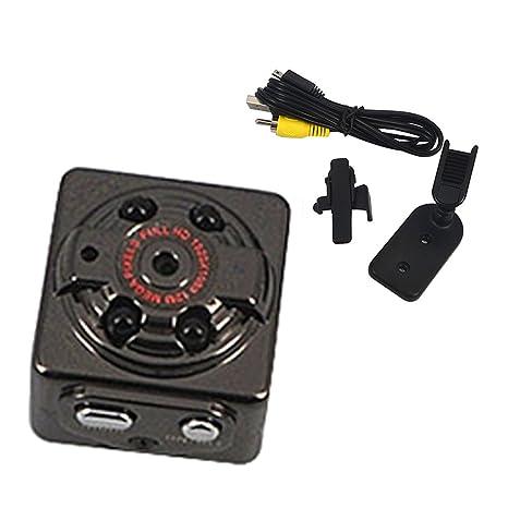 ec9d188a8ff Mini câmera filmadora 4GB que filma e tira foto com sensor de movimento e  visão noturna