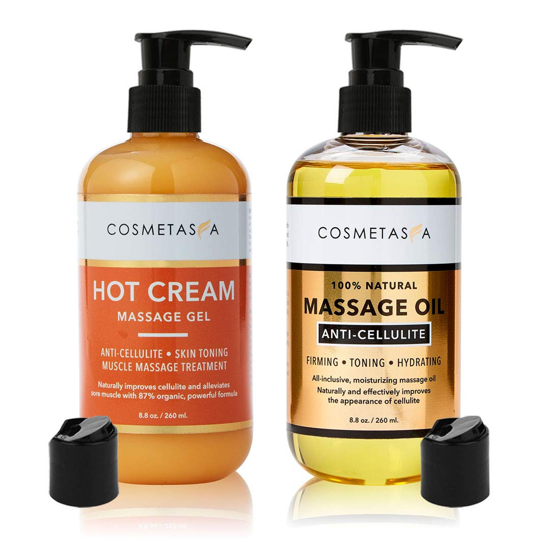 Amazon Com Anti Cellulite Massage Oil Hot Cream 100 Natural