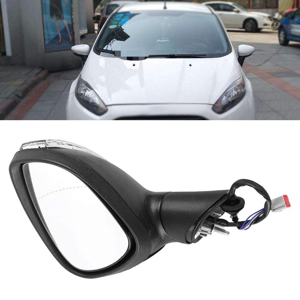 KIMISS Electric Complete Wing Door Mirror Rear View Mirror for Ford Fiesta MK7 2008-2012 Right