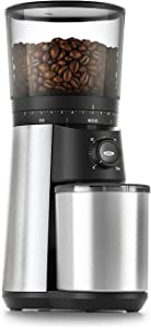 OXO BREW Conical Burr Coffee Grinder,Silver,One Size