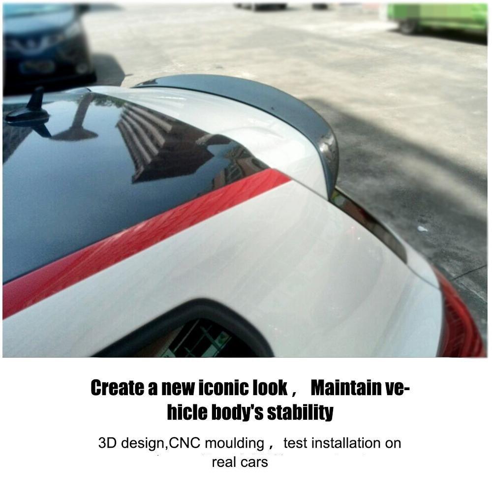 JCSPORTLINE Aileron de toit arri/ère en fibre de carbone pour Scirocco R 2009-2013 GTS 2013-2014