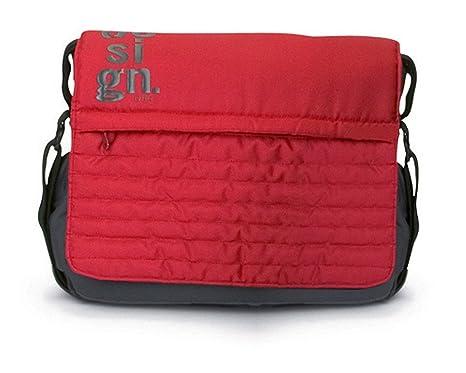Jane - Bolso cambiador, color rojo