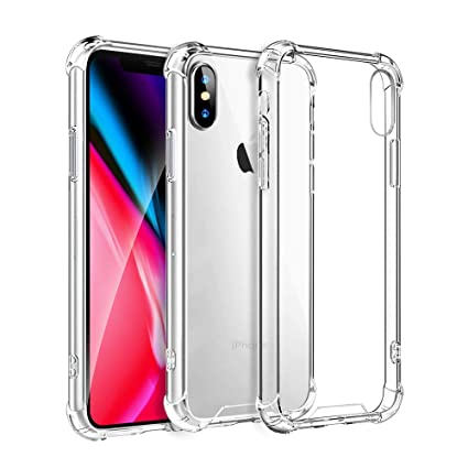 Amazon.com: Funda para iPhone XR, funda transparente para ...