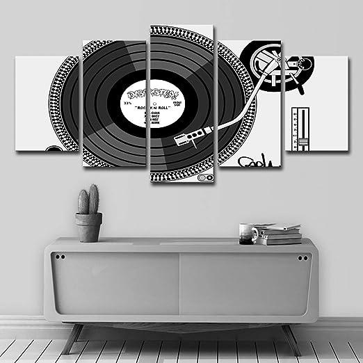 baokuan86 HD 5 DJ Tocadiscos Pintura clásica nostálgico ...