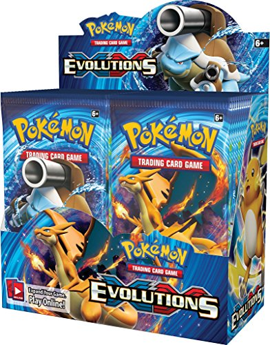 Pokemon TCG Card Game XY Evolutions Factory Sealed Booste...