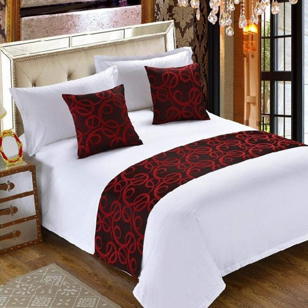 Home Textiles 1 Bed Runner Home Hotel Decor Luxury Foot Bed Runner ...