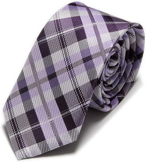 FDHFC Slim Tie Wedding Corbatas para Hombre para Hombres Negocio ...