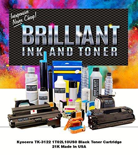 Brilliant TK3122-BRL Kyocera Black Toner Cartridge 21K - 21k Black Toner