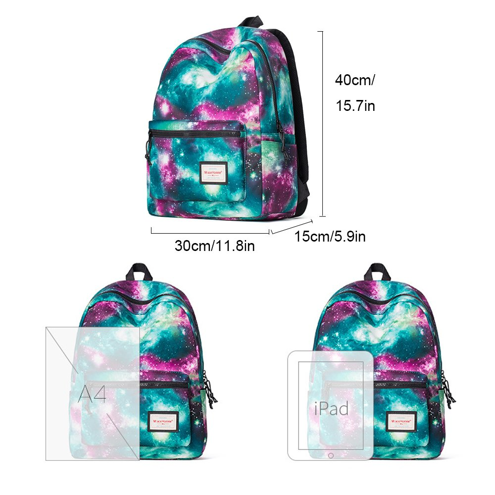 Galaxy Backpack Cute for School Backpack for Girls School Bags for Boys 14 Laptop Backpack