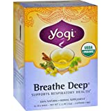 Yogi Tea, Breathe Deep, 16 Count (Pack of 6), Packaging May Vary