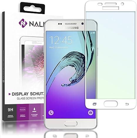 NALIA Cristal Templado Compatible con Samsung Galaxy A5 2016 ...