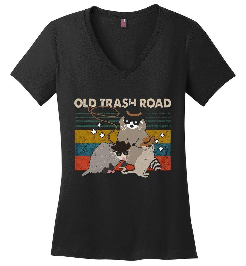 Old Trash Road Cool Funny Vintage Shirts
