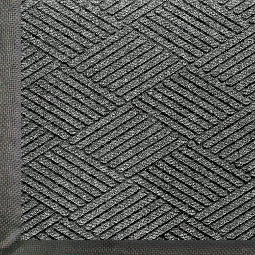 WaterHog Eco Commercial-Grade Entrance Mat, Indoor/Outdoor Black Smoke Floor Mat 4