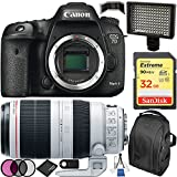 Canon EOS 7D Mark II DSLR Camera Bundle with EF 100-400mm f/4.5-5.6L IS II USM Lens, Deluxe Backpack and Accessory Kit (17 Items)