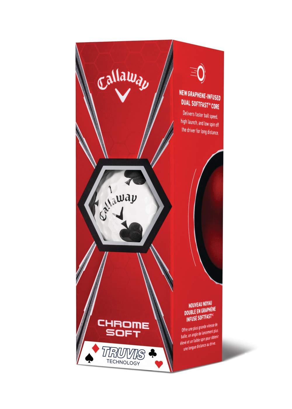 Callaway 2018 Chrome Soft Golf Balls(12 Ball Pack, Suits): Amazon co