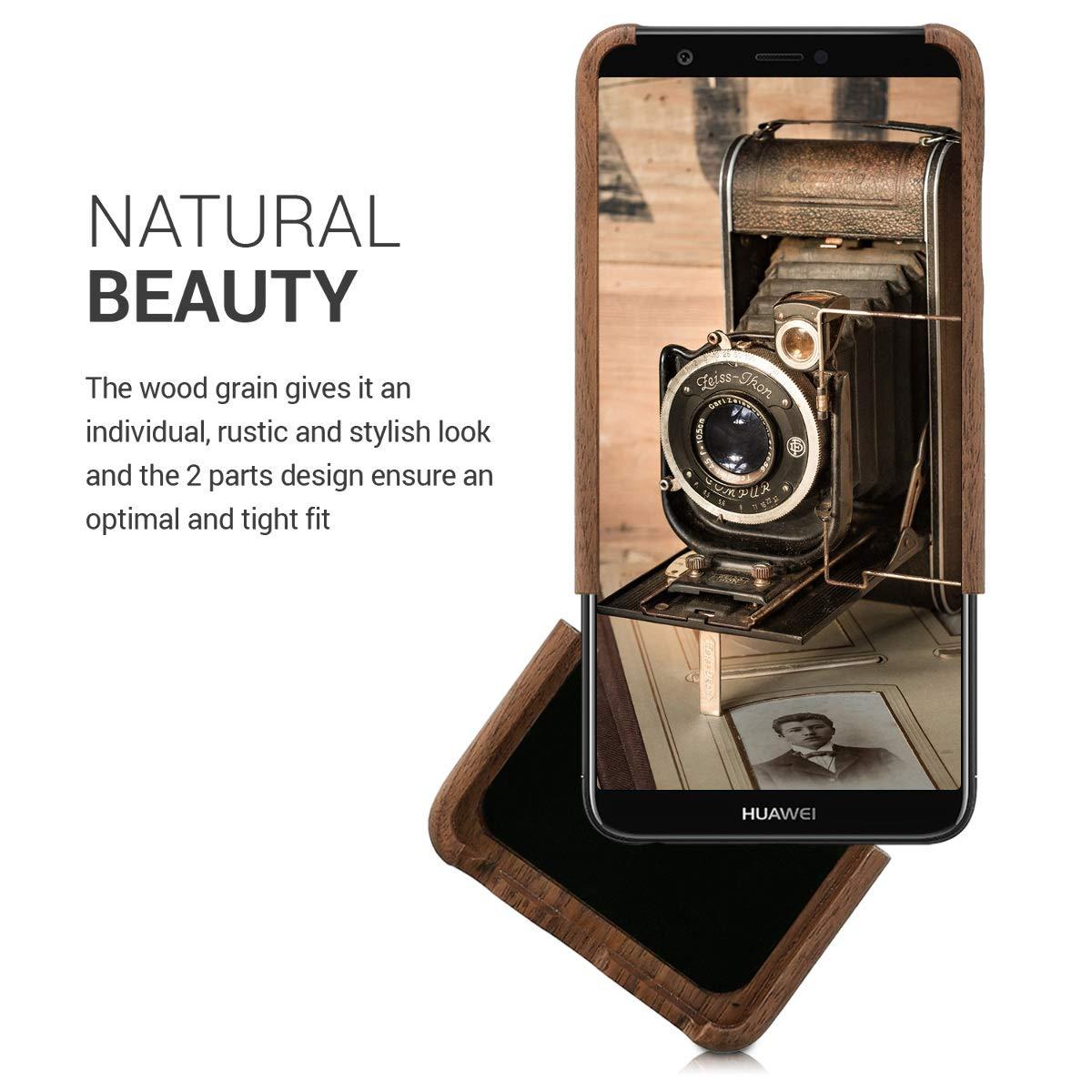 Amazon.com: kwmobile - Carcasa rígida para Huawei Enjoy 7S/P ...