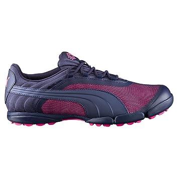 PUMA Sunnylite V2 Mesh Spikeless Golf Shoes 2016 Ladies Peacoat/Knockout  Pink Medium 8.5