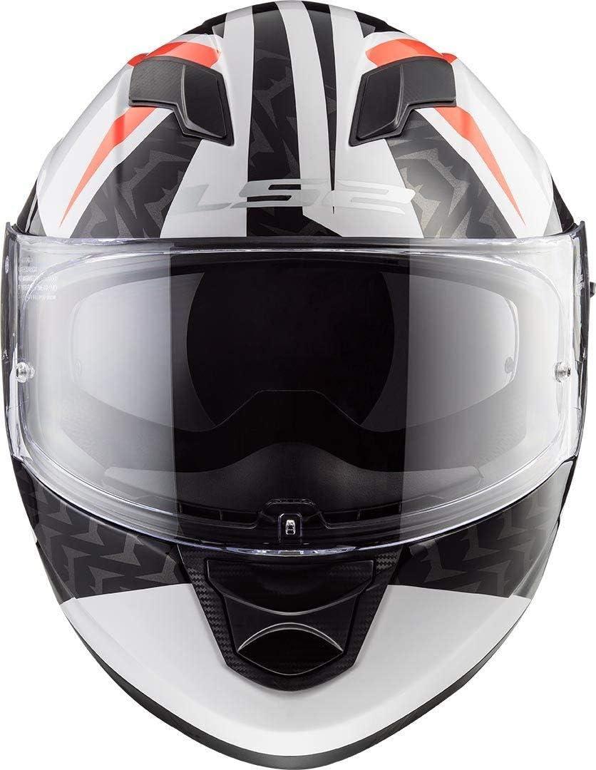 XS LS2 Casque moto STREAM EVO Blanc Blanc