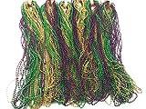 Mardi Gras Beads (144 PIECES) by Oojami