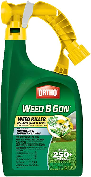 Amazon Com Ortho 410005 Not Available B Gon Weed Killer For Lawns Rts 32 Oz Garden Outdoor
