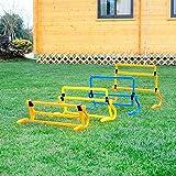 Bazaar Removeable Football Training Mini Hurdle Jump Sensitive Soccer Speed Agility Practice Equipment