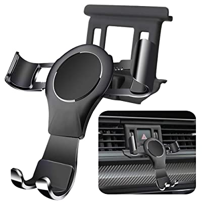 LUNQIN Car Phone Holder for Audi Q5 2020-2020 Auto Accessories Navigation Bracket Interior Decoration Mobile Cell Phone Mount