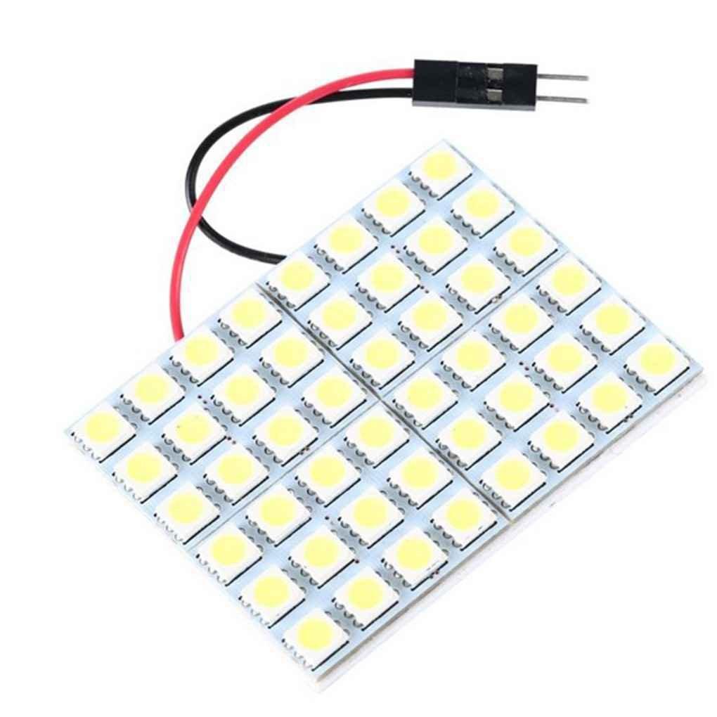 censhaorme Xenon bianco 48-SMD 5050 LED del pannello per auto/cupola / Area piede leggero/Trunk Cargo Luce AMZcenshaorme1256