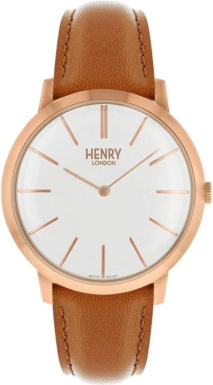 Henry London HL40-S0240 - Reloj analógico de cuarzo para adulto ...