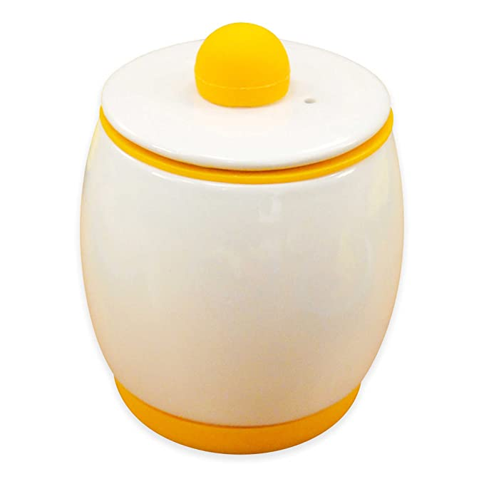 Amazon.com: Egg-Tastic Ceramic Microwave Egg Cooker and Poacher: Kitchen & Dining