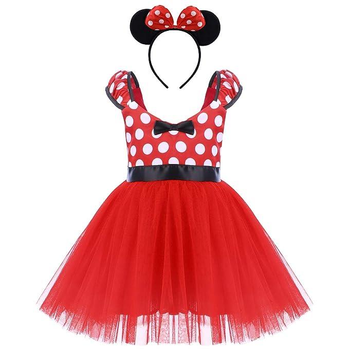 7bcbdb1a0a5f Toddler Girls Polka Dots Princess Party Fancy Costumes Wedding ...