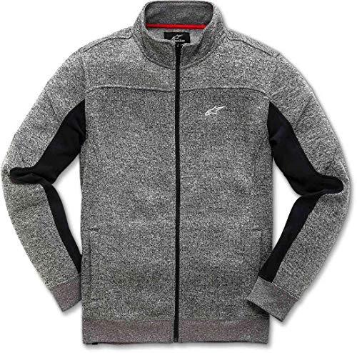 Technique Lux Charcoal Homme Coupe Polaire Stretch Alpinestars Moderne Mélangés grey Matériaux Sweater Fleece 1H6SWTqI