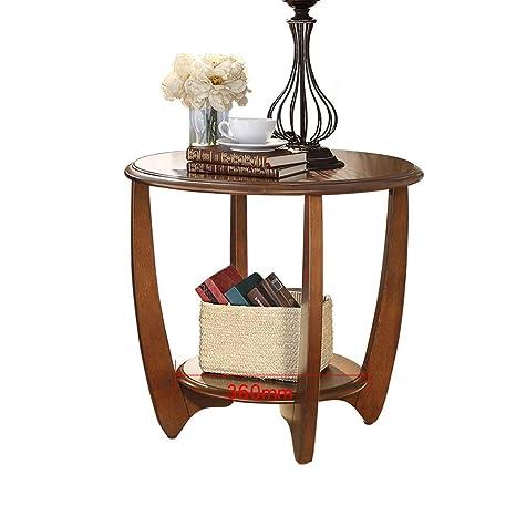 Hoge Side Table.1213 American Sofa Side Solid Wood Corner Balcony Small