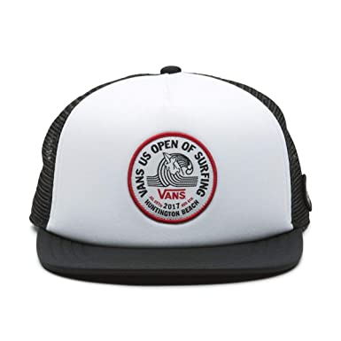 665fd93172 Vans 2017 US Open of Surfing VUSO Lock Up Trucker Hat (Black/White ...