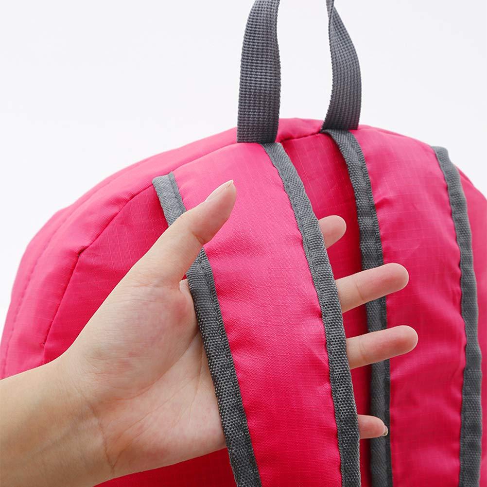 Creamon Mochila Plegable para Exteriores Mochila Plegable para Exteriores Mochila Impermeable Mochila Multifuncional para Senderismo y Viaje Paquete Azul