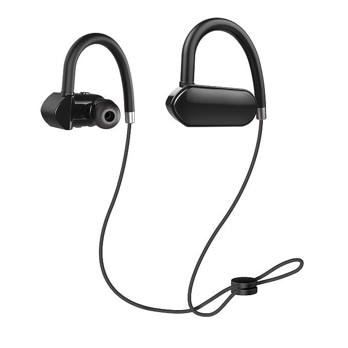 AIOPAKE - Auriculares Bluetooth inalámbricos deportivos con ...