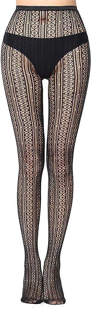 Doitsa 1pcs Womens Patterned Black Fishnet Net Tights//Fashion Pantyhose
