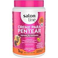 Creme Para Pentear Definição Intensa - 1 Kg Salon Line, Salon Line, Branco, 1 kg