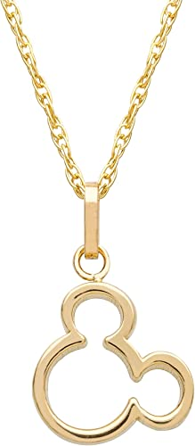 18 14K Yellow Gold Someone Special Pendant Necklace