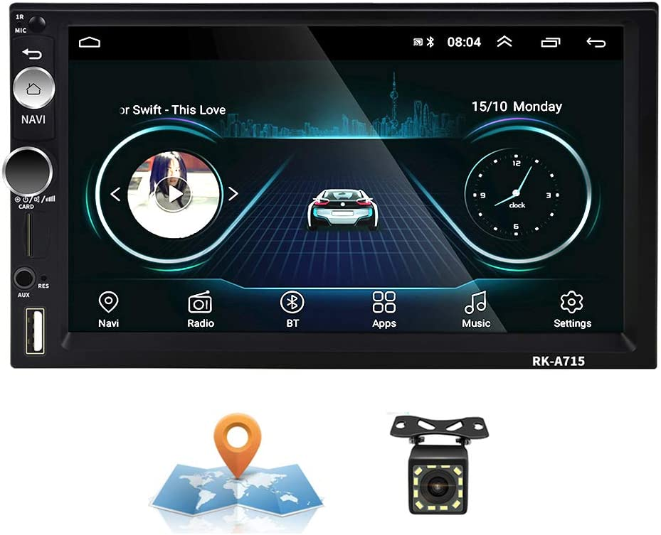 Android Autoradio 2 Din Gps Camecho 17 8 Cm Kapazitiver Elektronik