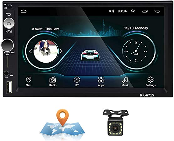 Android Car Radio 2 Din Gps Camecho 7 Inch Capacitive Elektronik