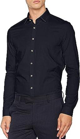 Calvin Klein Venice Extra Slim Fit FTC Camisa de Oficina para Hombre