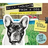 From Frank Daily Thoughts From a Dog 2018 Daily Desk Boxed Calendar