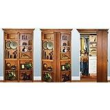 4' Oak Murphy Door Fully Assembled Unstained
