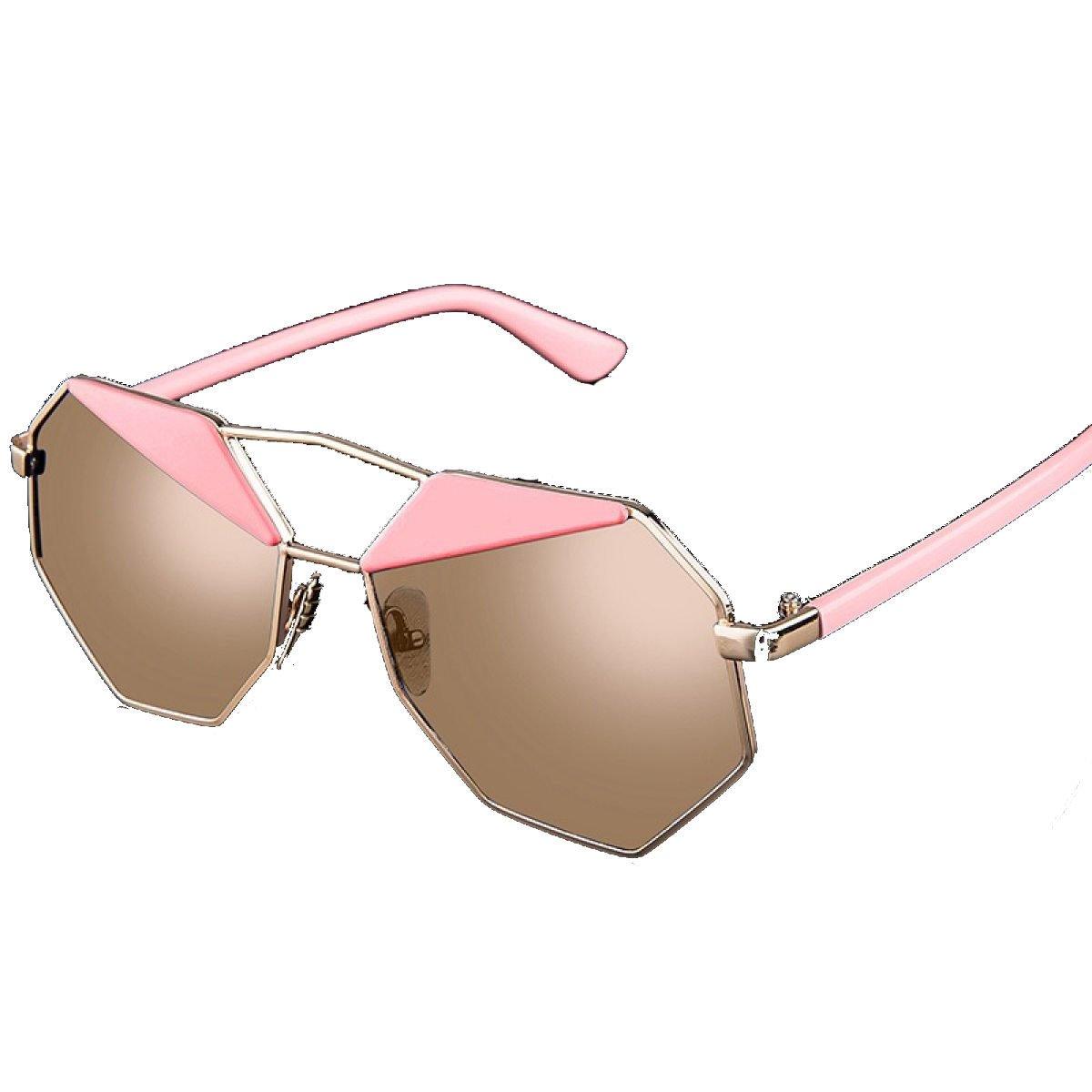 Reisen / Zubehör / Sonnenbrillen / Mode / Persönlichkeit / Polygon / Frau Brille,Pink-OneSize