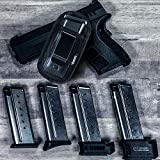 4-Pack Universal Magazine Holster Concealed
