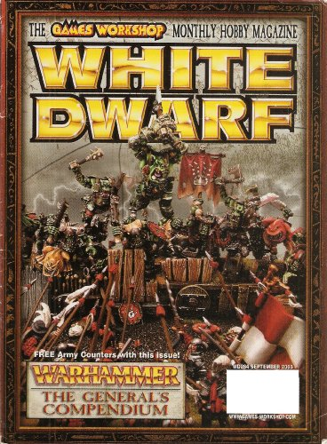 White Dwarf WD#284 September 2003 : The Games Workshop Monthly Hobby Magazine (Smith Christmas Cards Tom)