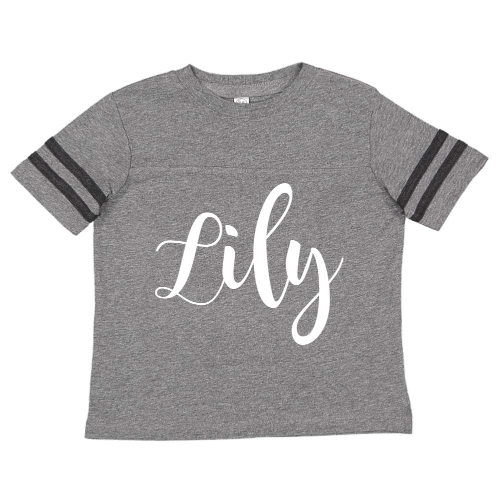 Lily Personalized Name Toddler//Kids Sporty T-Shirt