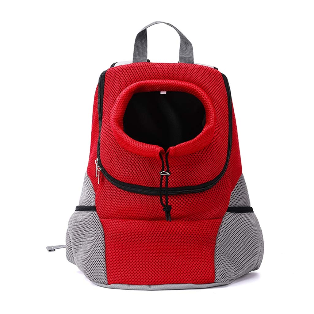 Red Medium Red Medium Pet Carrier Backpack Comfortable Dog Cat Travel Carrier Bag Front for Small Dogs Carrier Bike Hiking Outdoor